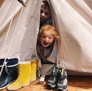 Kamperen met kinderen - www.leukewereld.be