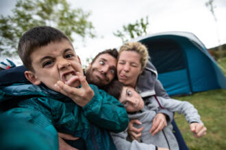 digital detox - kamperen met kinderen