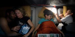 Kamperen met kinderen - slapen in een tent