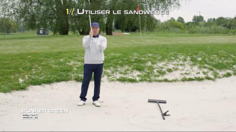 Golf-Thomas-Levet-Conseil-1-Bunker-Green-Débutant
