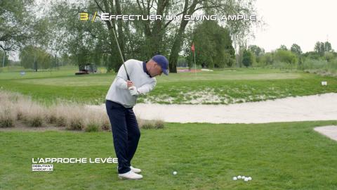 Golf-Thomas-Levet-Conseil-3-Approche-Levée-Débutant