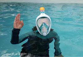 Chercheurs d'eau a testé notre combinaison de plongée SCD500 5mm