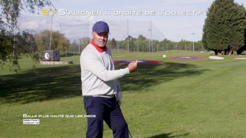 Golf-Thomas-Levet-Conseil-2-Balle-haute-Débutant