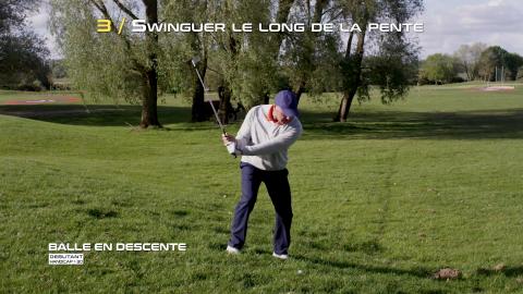 Golf-Thomas-Levet-Conseil-3-Balle-Descente-Débutant
