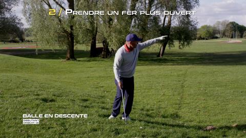 Golf-Thomas-Levet-Conseil-2-Balle-Descente-Débutant