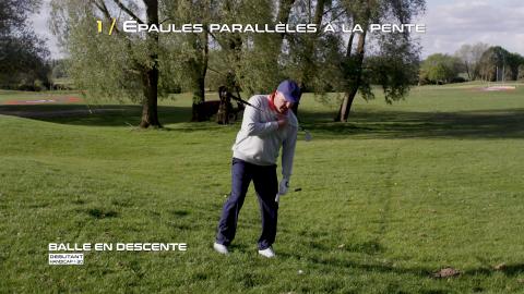 Golf-Thomas-Levet-Conseil-1-Balle-Descente-Débutant