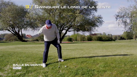 Golf-Thomas-Levet-Conseil-3-Balle-Montée-Débutant