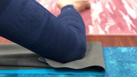 瑜珈鋪巾-可充當練習輔具