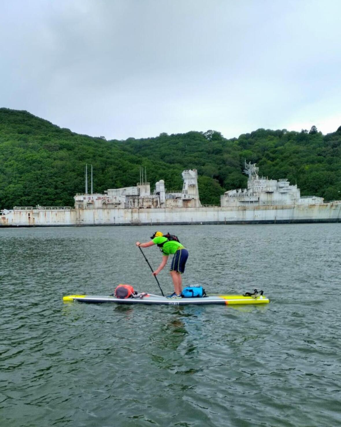 nantes brest trip stand up paddle