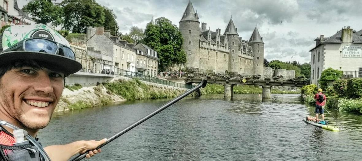 canal nantes brest stand up paddle