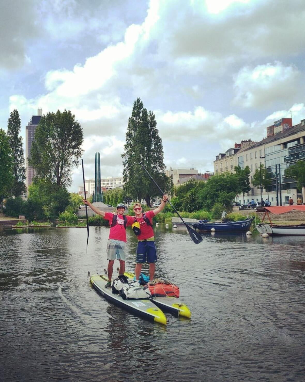 nantes stand up paddle trip