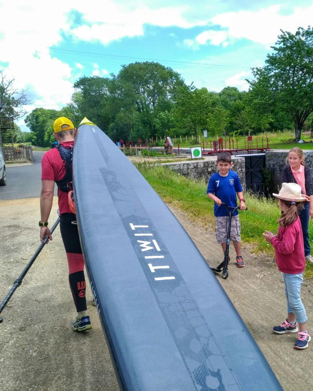 locks nantes brest stand up paddle