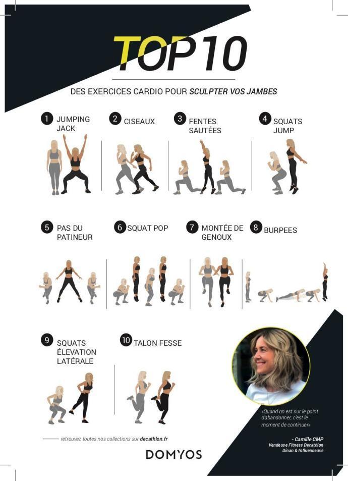 top 10 exercices pour sculpter jambes