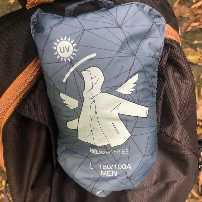 跟著晨晨登山隊來一趟夏日親子健行 迪卡儂健行外套