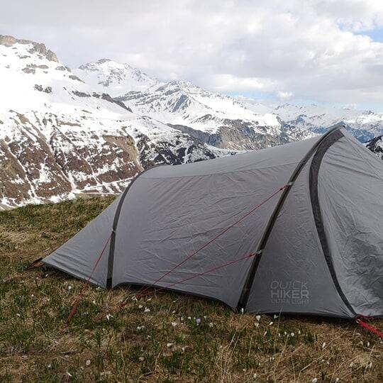 photo trek camping dans le beaufortain