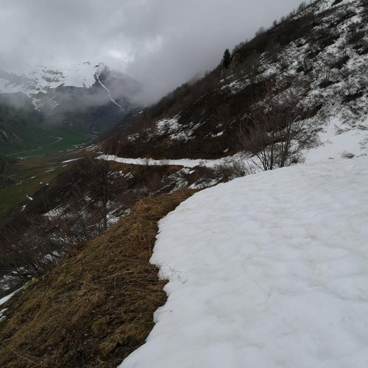 photo trek randonnée au lac de la gittaz