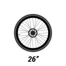 VTT roues 26 pouces