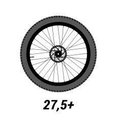 VTT roues 27,5 plus pouces