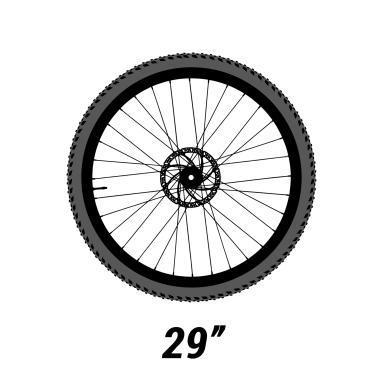 """Taille de roues 29"""""""