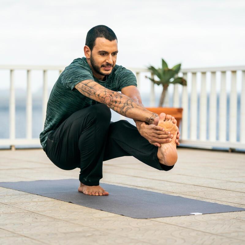 Yoga taboes doorprikt