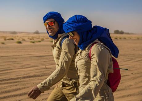 迪卡儂環保產品:沙漠健行頭巾及圍巾