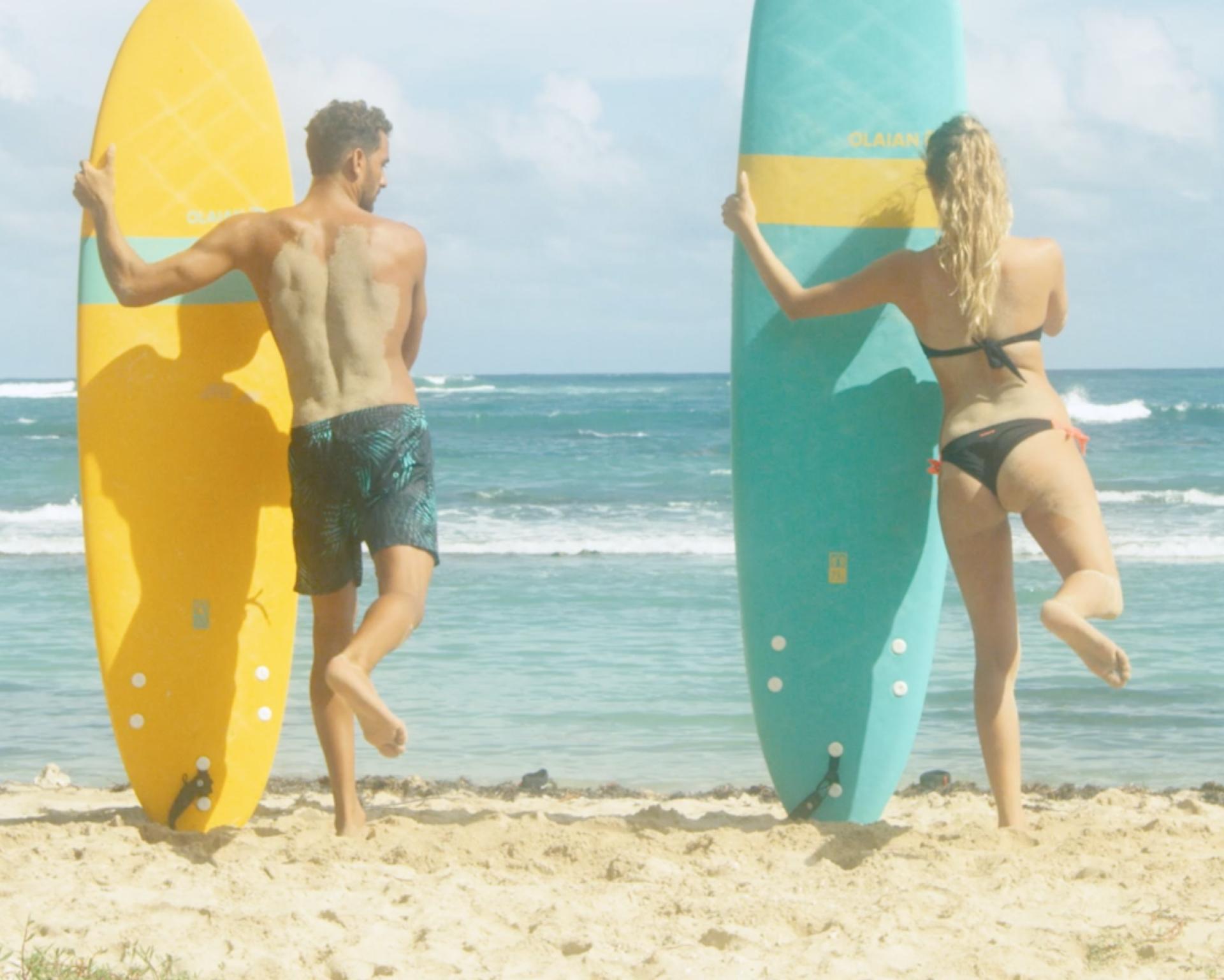comment s'échauffer avant le surf