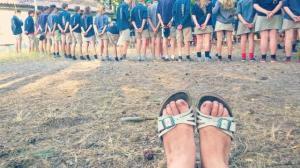 Op kamp met de jeugdbeweging: een familiegebeuren