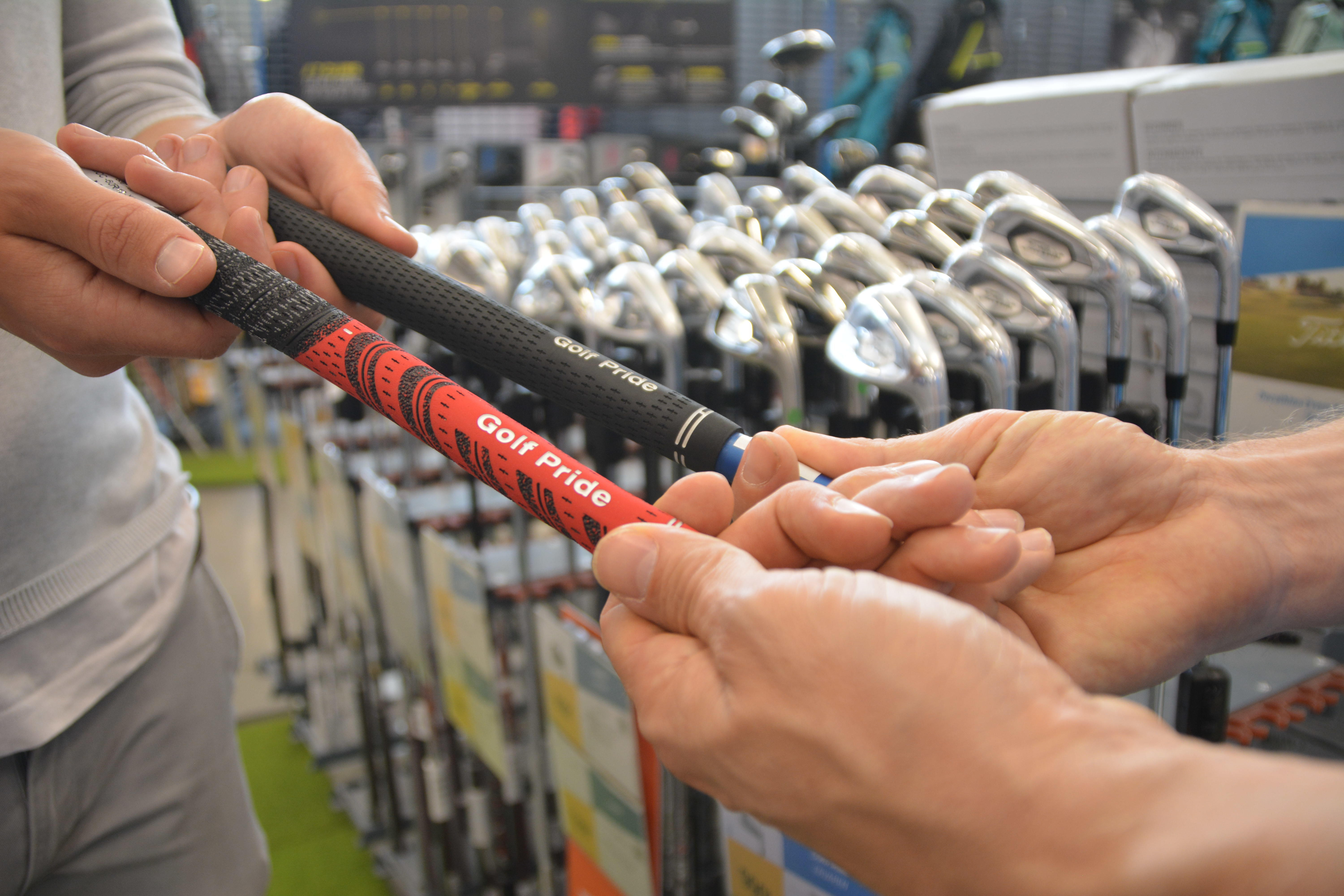 Fitting golfclubs