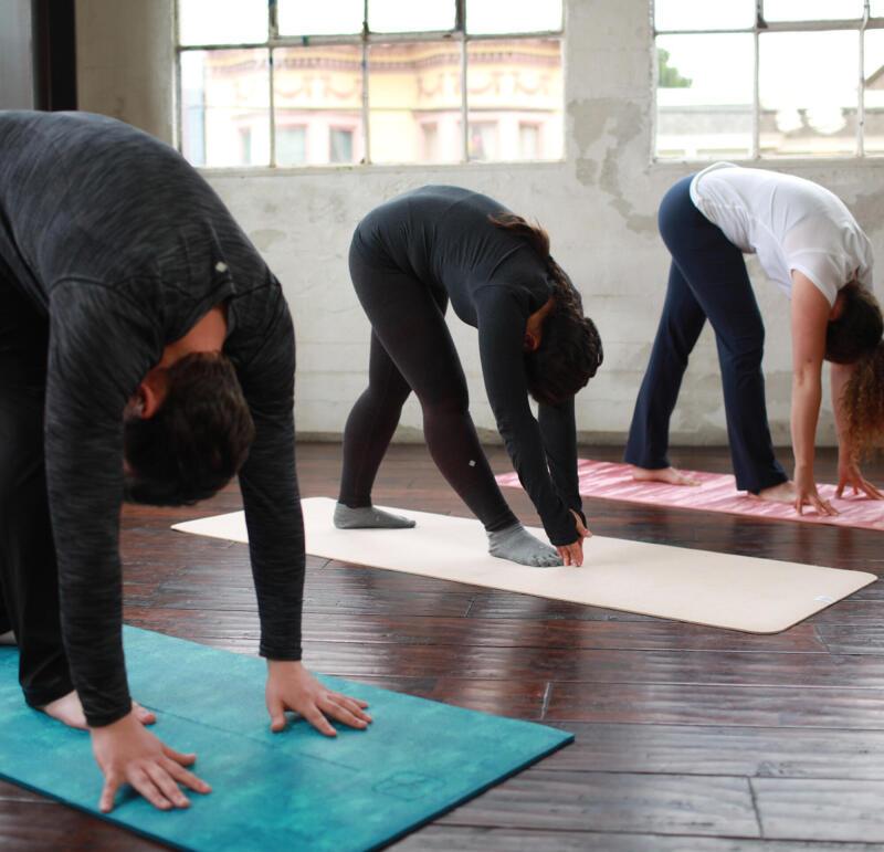 De gouden regels van de yoga les