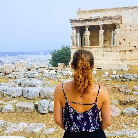 voyage Athènes et visite de l'acropole