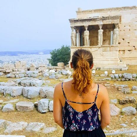 trip athens and visit to acropolis