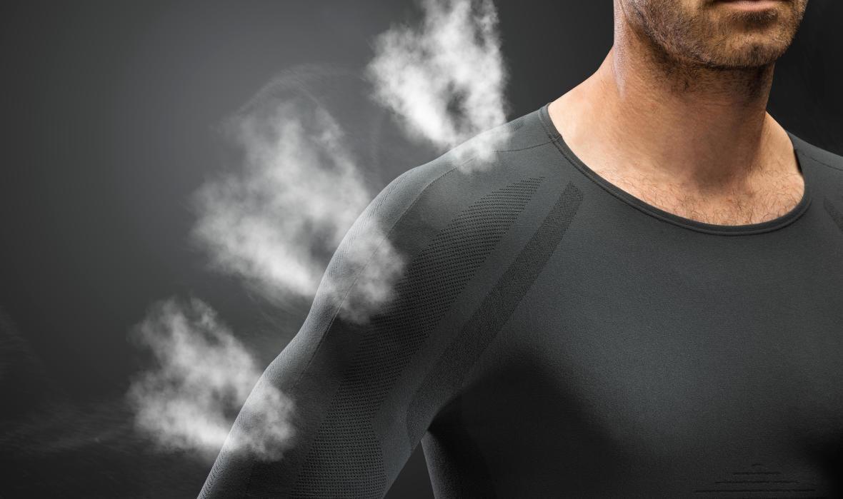 Un sous-vêtement ultra respirant