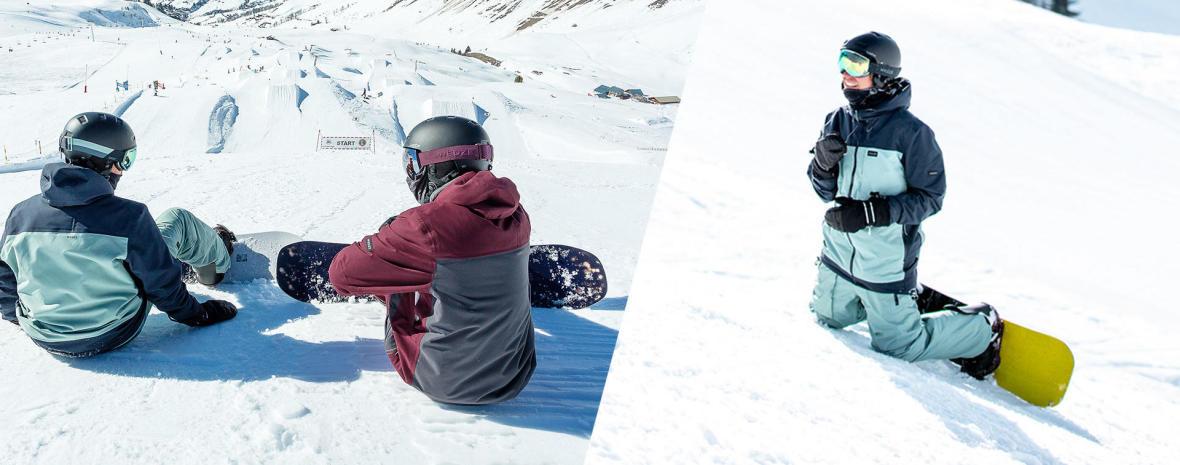 Pantalons Snowboard Warmseat Kneepad
