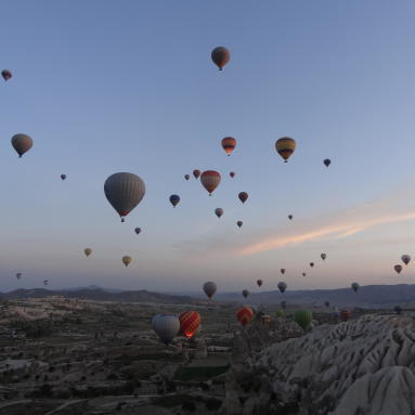 Cappadoce montgolfières trek turquie