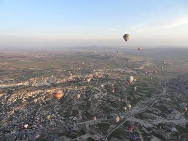 Cappadoce Vol Montgolfière