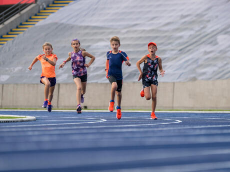 Kids Running Sports Day