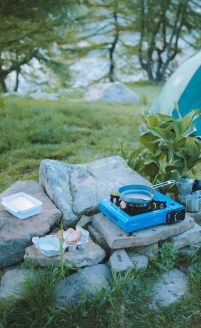 defi popote pancake aux myrtilles alex celaire camp randonnee montagne quechua decathlon