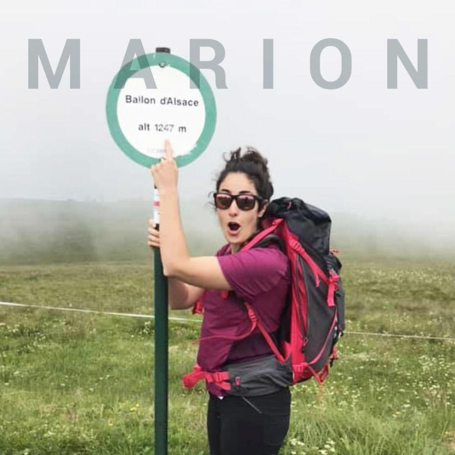 portrait ambassadrice marion randonnee montagne quechua decathlon