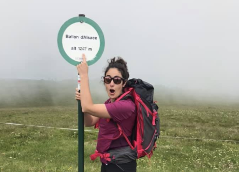 photo marion ambassadrice randonnee montagne quechua