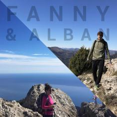 portrait ambassadeurs fanny et alban randonnee montagne quechua decathlon
