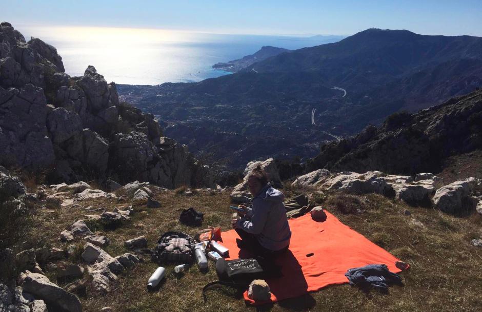 photo alban et fanny ambassadeurs randonnee montagne quechua