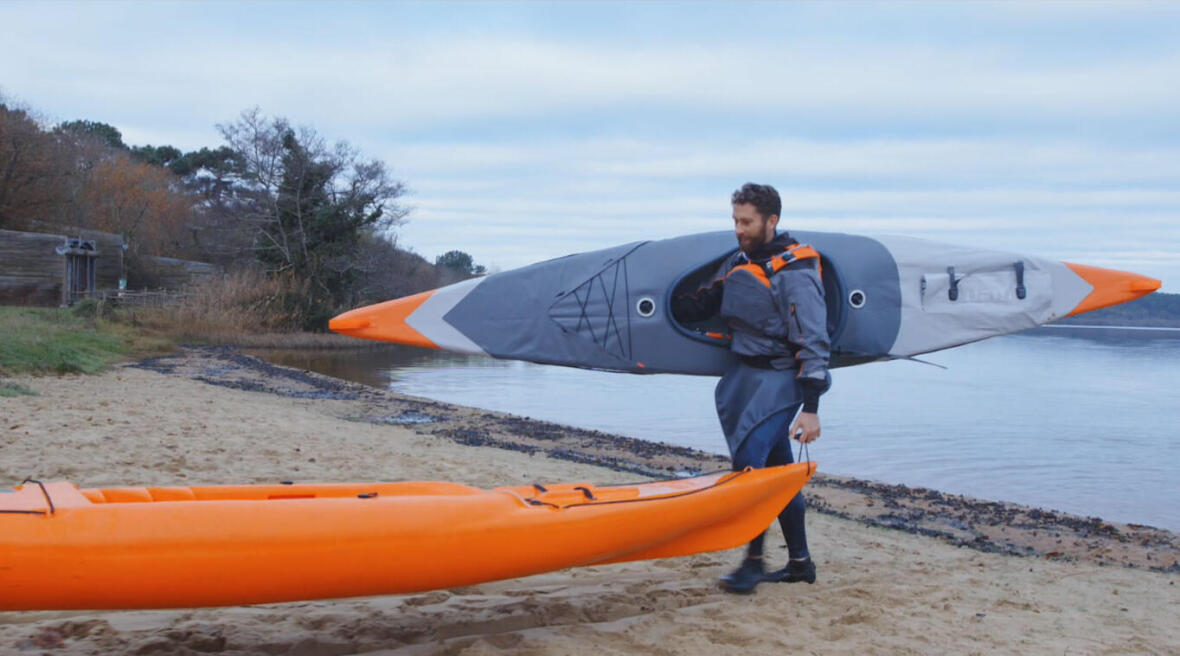 kayak gonflable itiwit leger