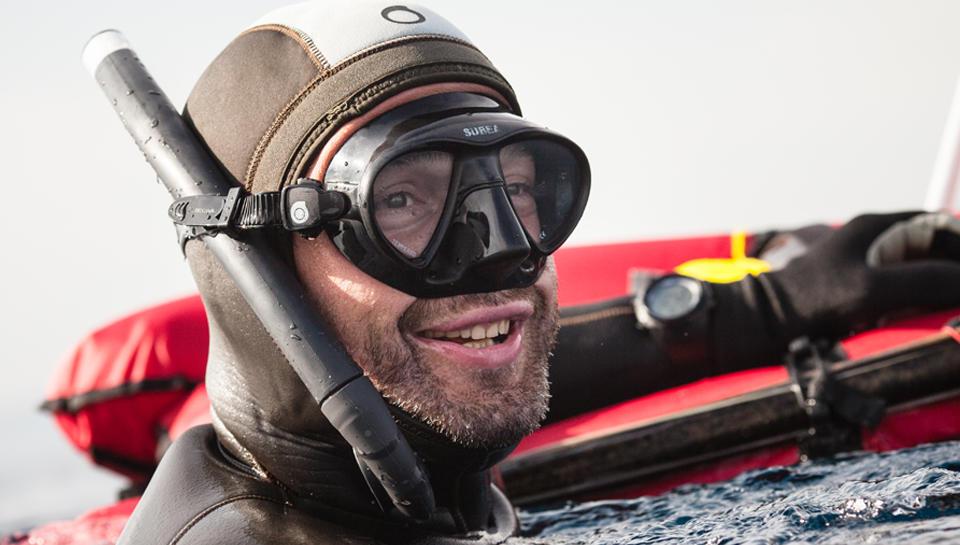 Masques de chasse sous-marine
