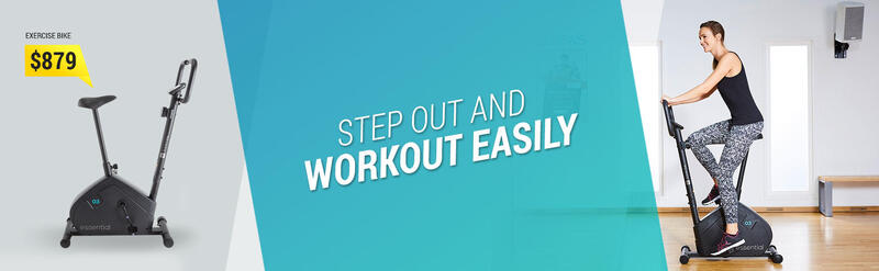 Step out and workout easily