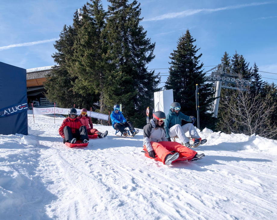 top 5 des pistes de luge en France