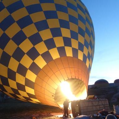Faire de la montgolfière en cappadoce