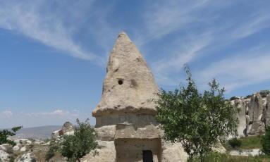 photo de cheminée des fées en Cappadoce