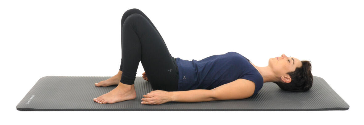 Le relevé de bassin 1, exercice de pilates - conseils sport DECATHLON