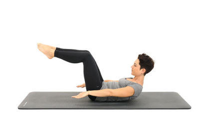 Le Hundred, exercice de pilates - conseils sport DECATHLON