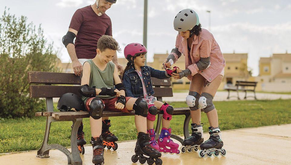 Equipements de roller